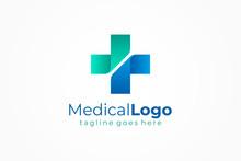 Cross Sign Medical Logo Health...