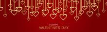 Valentines Day Banner Backgrou...
