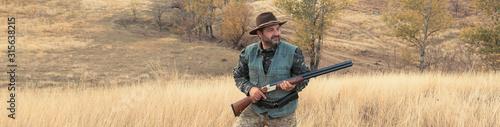 Fotografie, Obraz Hunting period, autumn season open