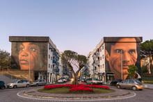 Murals In Scampia, Naples - It...
