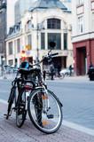 Fototapeta Miasto - Rowery bikes 1