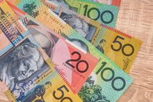 Colorful Australian Dollar Ban...