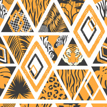 Seamless African Pattern In Pa...