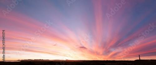 Obraz Puesta de sol - fototapety do salonu