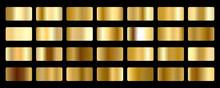 Gold Foil Texture Background S...