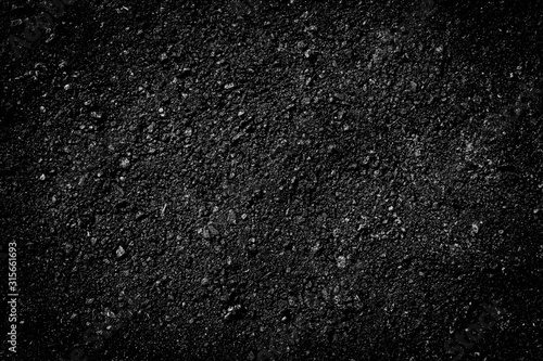 black asphalt texture Wallpaper Mural