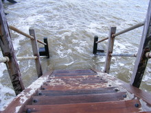 Each Stairs As The Tide Comes In