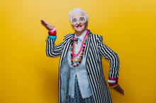 Funny Grandmother Portraits. S...