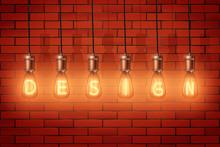 Decorative Retro Design Edison...