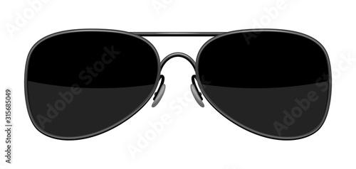 Fotomural Illustration of stylish sunglasses.