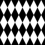 Tile black and white background or vector pattern for seamless decoration wallpaper - 315691673