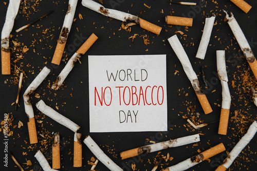 World No Tobacco Day Fototapet