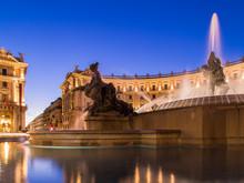 Rome, Piazza Della Repubblica,...