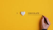 I Love Chocolate Sign
