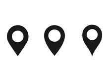 Location Pin Icon Vector Illus...