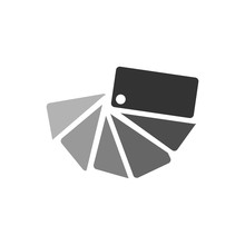 Concept Color Catalog Icon. Gr...