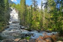 Hidden Falls  -  Waterfall In Grand Teton National Park