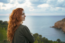 Redheaded Young Woman At The C...
