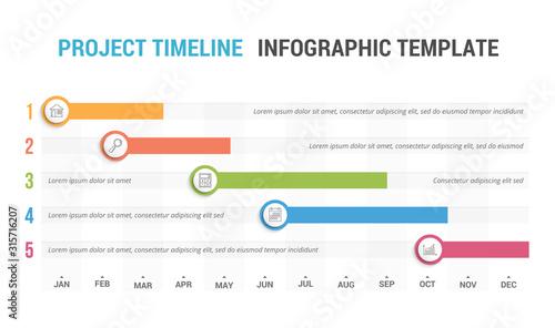 Fotografía Timeline Infographics