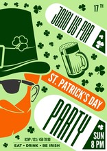 St. Patrick's Day Poster Desig...