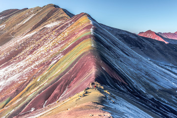 Rainbow moutains in Peru