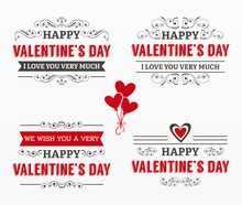 Variety Of Love Illustration Set