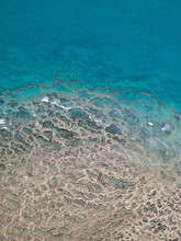 Shore Pattern. The Aerial Shot...