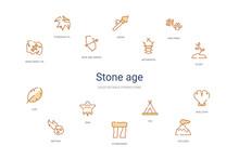 Stone Age Concept 14 Colorful ...