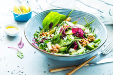 Fresh Colorful Spring Salad - ...