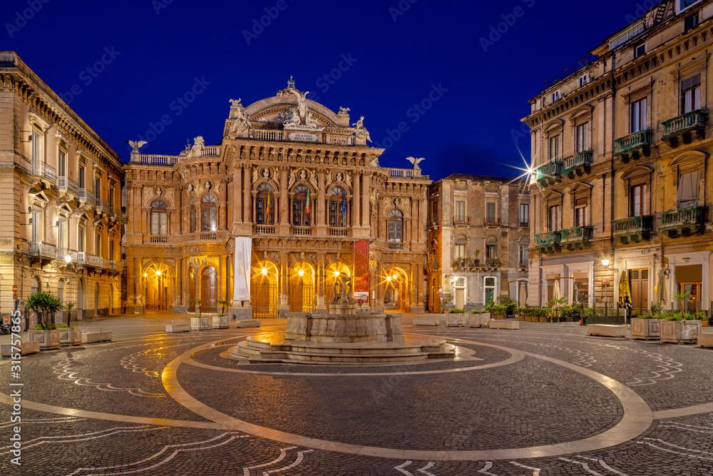 Fototapeta Catania - Theater - Teatro Massimo Bellini