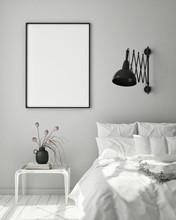Mock Up Poster Frame In Modern...
