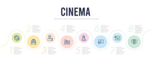 Cinema Concept Infographic Des...