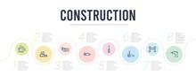 Construction Concept Infograph...