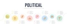 Political Concept Infographic ...