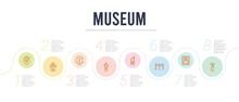 Museum Concept Infographic Des...