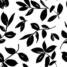 Leaves And Branches Vector Sea...