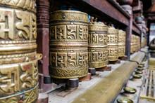 Shelf Of Beautifully Engraved ...