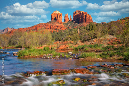 Fototapeta Cathedral Rock Viewed From Red Rock Crossing 1 obraz