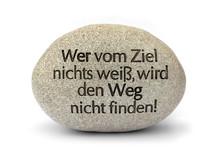 """Stein Der Weisheit, """"Wer Vom..."""