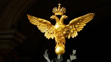 Gold Russian Double-headed Eagle