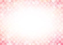 桜の和風背景4