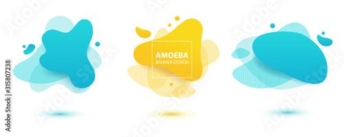 Photo Amoeba liquid design