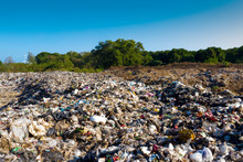 Plastic Pollution In A Landfil...