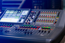 Buttons Equipment For Sound Mi...