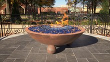 Eternal Flame Burns At The Mar...