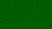 Green Background For St. Patri...