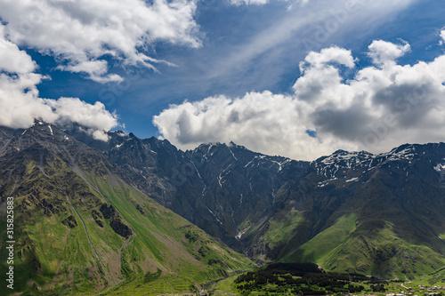 Obraz na plátne Caucus Mountains