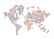 World Of Love, Map Shape, Made...