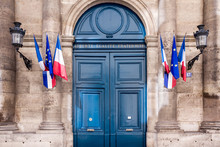 French Senate Monument Entrance, Paris