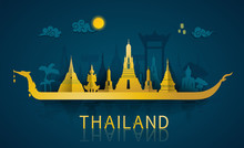 Thailand Travel Illustrator: F...